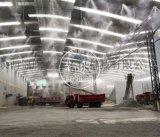 工地廠房噴霧除塵降溫系統 高壓噴霧除塵降溫設備廠家