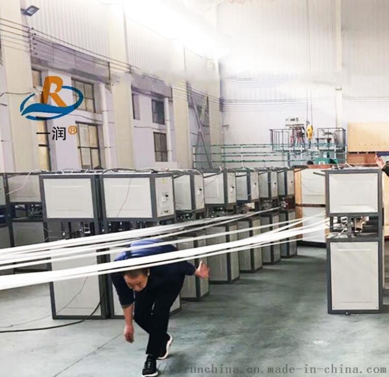 塑料撕裂膜拉丝机 PP捆扎绳生产设备