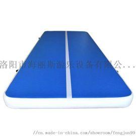 跆拳道气垫 充气瑜伽武术训练垫 体操空翻保护垫子
