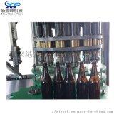 玻璃瓶啤酒压盖机 全自动压盖机 含气体饮料生产线