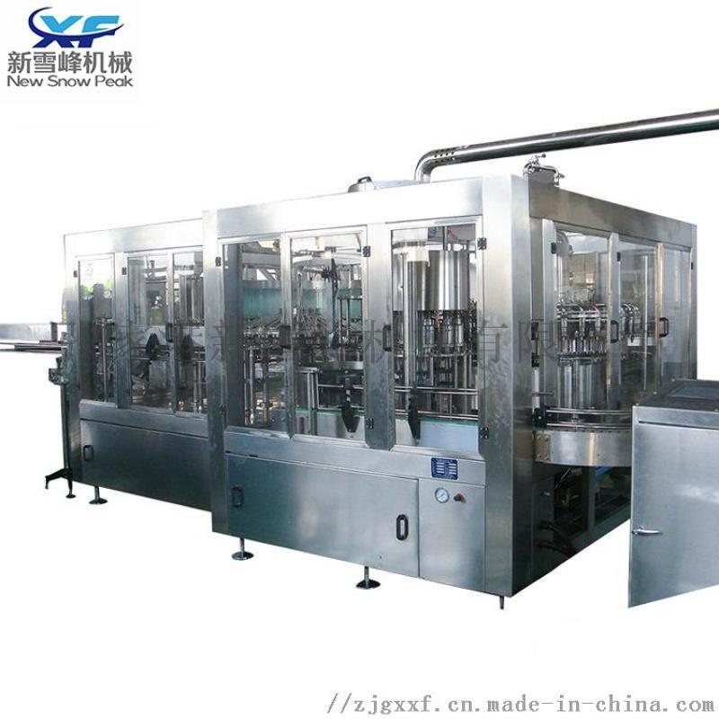 40头等压装机 果肉灌装汽水四合一机饮料生产线