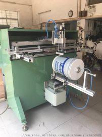 中山市塑料桶丝印机中山涂料桶滚印机丝网印刷机厂家