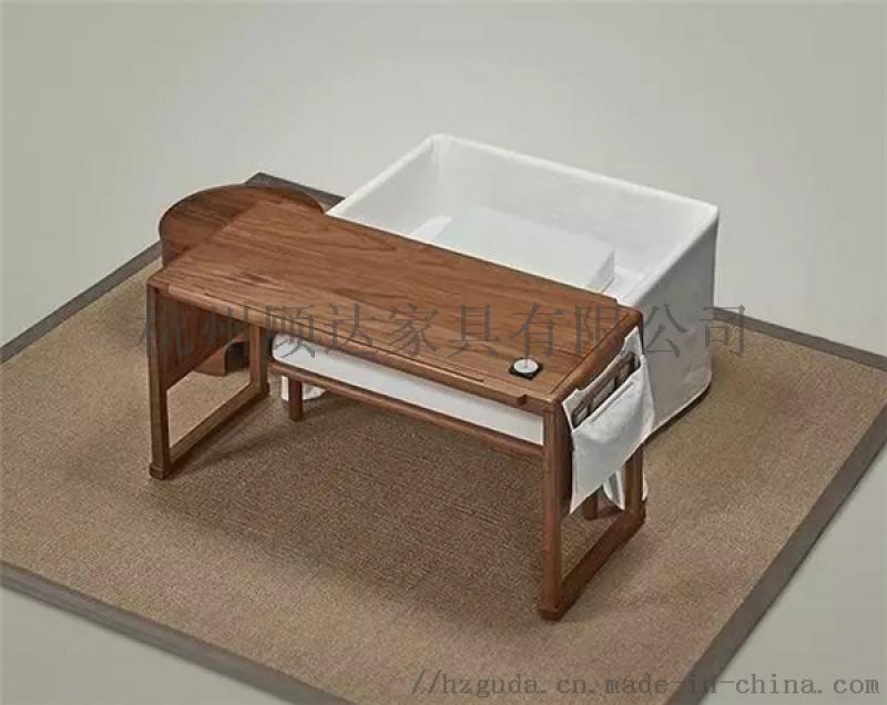 杭州实木桌椅定做 黑胡桃家具 美式橡木沙发