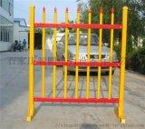 智鵬安全圍欄不鏽鋼伸縮圍欄玻璃鋼立式圍欄