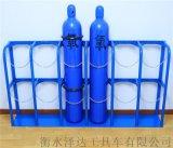 氧气瓶固定架茶埠氧气瓶固定架氧气瓶固定架厂