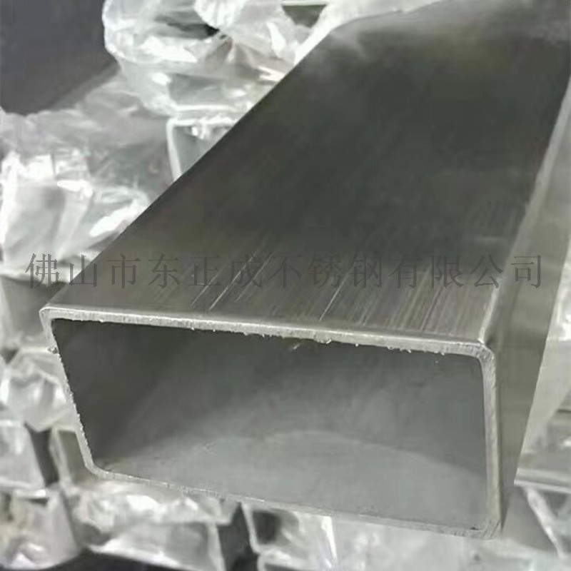 大口径304不锈钢矩形管,镜面不锈钢矩形管
