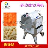 中央廚房商用多功能切菜機 水果蔬菜切條切片機