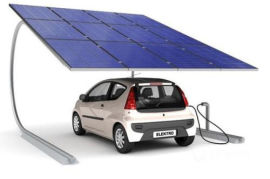 广东晶天太阳能电池组件太阳能光伏板新能源汽车充电桩