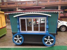 订制移动售 车-商业广场购物售 车-防腐小吃车