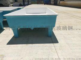 厂家定制大型养殖池 玻璃钢水池鱼盆 鱼苗孵化池水槽