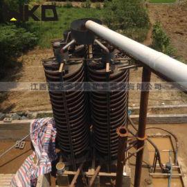 矿泥分离螺旋溜槽 玻璃钢溜槽 实验室溜槽参数