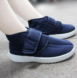 防静电棉鞋 中帮安全防护电子厂专用无尘鞋 足部防护