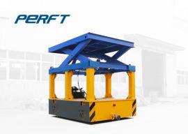 剪叉无轨搬运车 蓄电池遥控车 模具运输地爬车