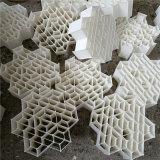 焦化项目新产品阻燃型六角内棱环瓷塑填料