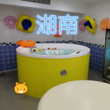 圆形婴幼儿游泳池,婴儿洗澡盆商用,广州游泳池设备