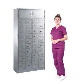 SKH066-1药柜 置物柜 不锈钢中西药柜