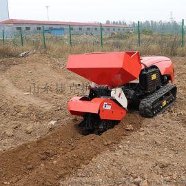 厂家直销 多功能履带式微耕机 田园管理机