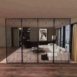 中式仿古鋁窗花定製廠家 造型覆膜鋁窗花圖案