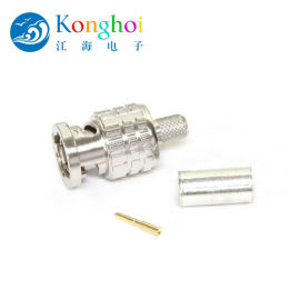 江海电子75Ω BCP-B系列BNC 压接插头