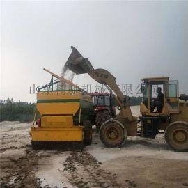 路面工程撒布机 石灰粉料撒布机 修路施工撒灰机