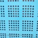圆孔建筑网防护网片 钢性安全网