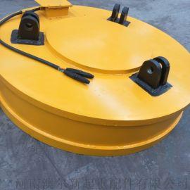 吊运废钢用起重电磁吸盘  断电不消磁电磁铁