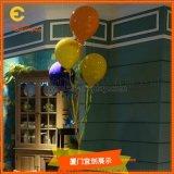 橱窗玻璃钢气球道具  展示展览