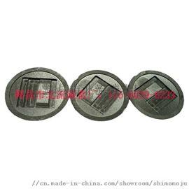 碳化硅涂层石墨坩埚 圆柱型石墨坩埚