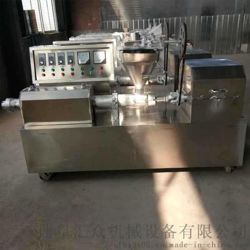 辣条机器一台 电温控牛排豆皮机 利之健lj 全自动