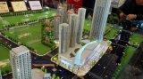 天津西青區建築沙盤模型定製 房地產弧形沙盤模型製作找富國極速發貨