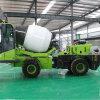 沙石漿自動上料攪拌車 2方裝載機式自上料攪拌車