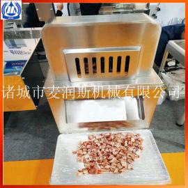 冻鱼切块机 猪排切丁机猪排切块机 切牛肉粒机