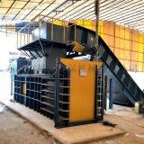 深圳200T廢紙液壓打包機 臥式半自動垃圾打包機
