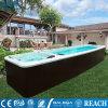 泉州酒店泳池设计-恒温水疗泳池-智能泳池带电视