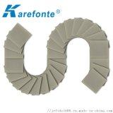 AIN氮化鋁高導熱陶瓷片進口氮化鋁陶瓷散熱片