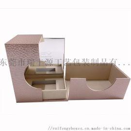 香水盒展示盒+厂家定制+特种纸加镜子