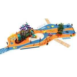 定制戶外大型不鏽鋼滑梯公園園林景觀商場遊樂設備廠家