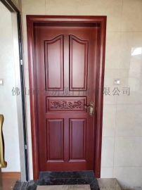 家装实木门,佛山金房顶豪华烤漆实木门