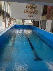 健身房四季恆溫鋼結構泳池專業設計找中廣泳池