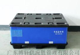 广东博轩1210可折叠塑料蜂窝板围板箱