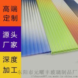东阳长虹钢化艺术玻璃 透光不透人艺术玻璃