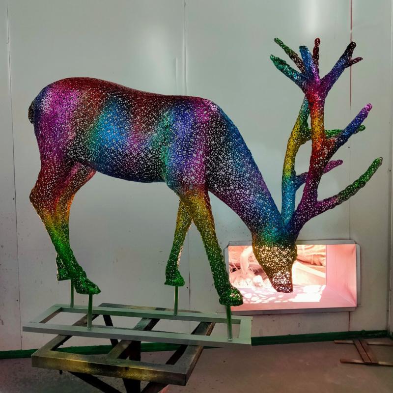 铁艺雕塑_铁艺造型_铁艺艺术品-惠州铁艺雕塑厂家