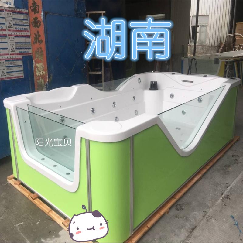 幼兒游泳池家用 嬰兒游泳館洗澡盆 兒童游泳池