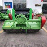 新款不同寬幅稻草秸稈粉碎打捆機 懸掛牽引式打捆機