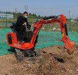 捷克國產小挖機 全新農用果園08小型挖掘機