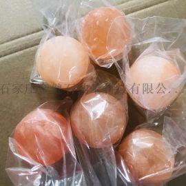 喜马拉雅盐浴球,玫瑰盐球,天然盐石球盐皂,沐浴盐球