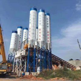 HZS240大型商品混凝土搅拌站设备厂家直销