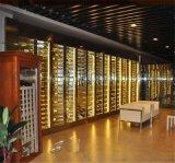 廠家直銷不鏽鋼酒櫃 恆溫酒櫃 常溫酒櫃 酒架定製
