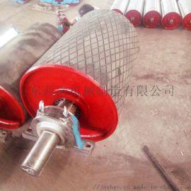 DTⅡ型皮带机包胶驱动滚筒 630聚氨酯驱动滚筒