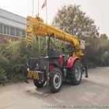 10吨拖拉机吊车 拖拉机吊车旋挖钻
